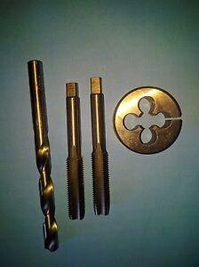 2x M14 x 2.0 tungsten steel Hand tap Inter bottom //plug die button OD 38mm
