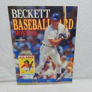 Details About Matt Nokes Cover Beckett Baseball Card Price Guide June 1988 Issue 126 23