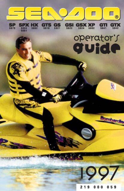 Sea Doo Owners Manual