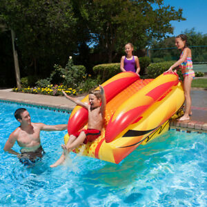Details about Poolmaster Swimming Pool Launch Slide