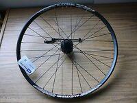 26 Mountain Bike Rear Wheel Alex Md23 Rim Shimano M475 Hub 8/9/10 Disc Brake Qr