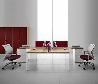 Schreibtische & Computermöbel Treu Schreibtisch Für 2 Personen Glider Arbeitsplatz Bürotisch Design Arbeitszimmer GroßE Vielfalt