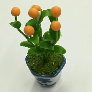 1:12 Dollhouse Miniature Indoor Plant in Clay Pot// Miniature Garden BD A1033