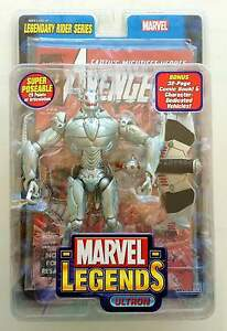 TOY-BIZ-2005-MARVEL-LEGENDS-ULTRON-LEGENDARY-RIDERS-SERIES-WITH-COMICS-SEALED