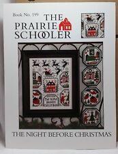 The Prairie Schooler Night Before Christmas Cross Stitch Pattern Book No. 199