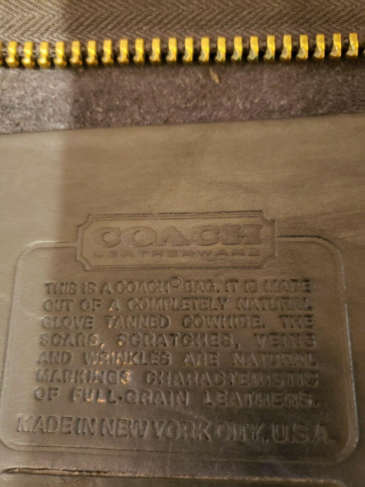 Rare Vintage Authentic Coach NYC Bonnie Cashin 19… - image 12