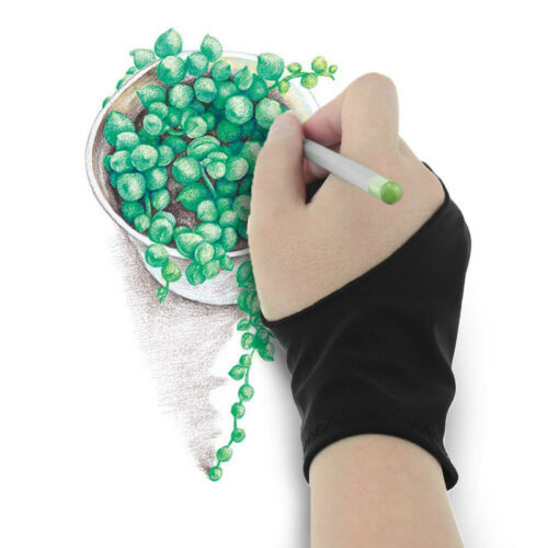 Two Finger Glove For Graphics Drawing Pen Tablet Tracing Pad Artist Drawing