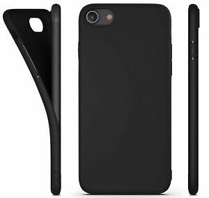 Antichoc Coque Silicone Mat Case iPhone 6 7 8 Plus SE X XR XS MAX 11 Pro 12 Mini