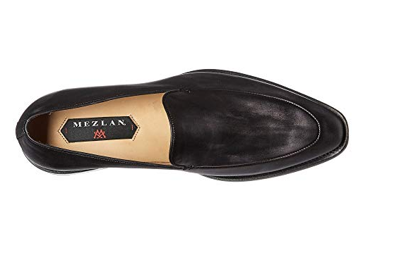 New in in in Box Mens Mezlan Strauss Loafer schuhe Leather Graphite Größe 13 M MSRP  425 ffa1d5
