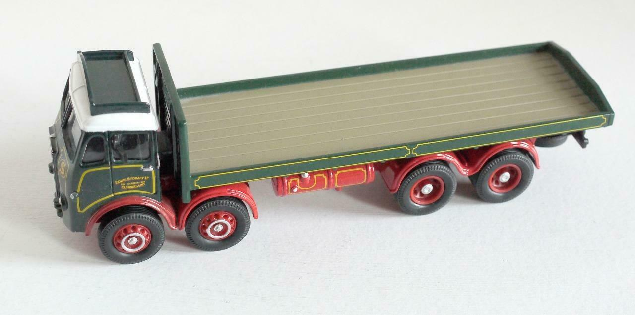 CORGI TOYS (PRE-PRODUCTION   PROTOTYPE CODE 3) EDDIE STOBART - ATKINSON 8 WHEEL