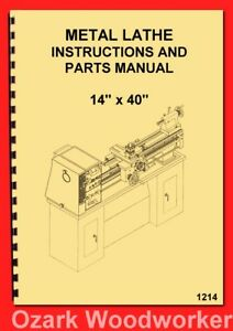 Remarkable Details About Turn Pro Enco Jet Asian 14X40 Metal Lathe 328 6153 328 6135 Part Manual 1214 Caraccident5 Cool Chair Designs And Ideas Caraccident5Info