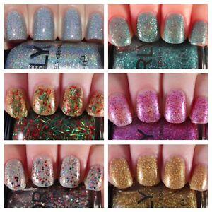 Orly Sparkle 2017 Holiday Glitter Nail Varnish Polish