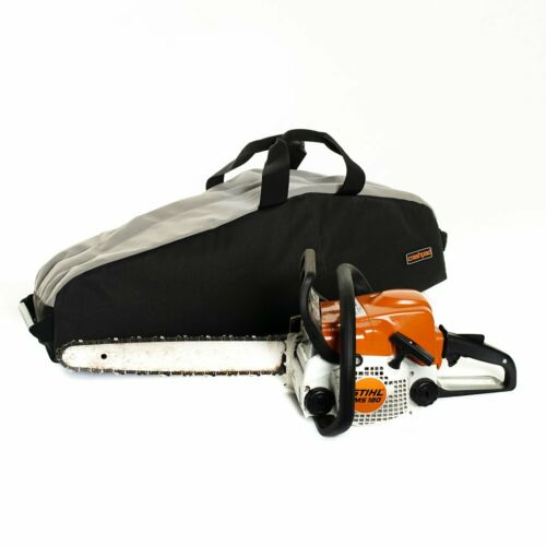 PVC Heavy Duty 4X4 4WD Crashpad Chainsaw Bag Storm LARGE Canvas
