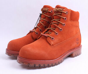 Timberland-6-034-Premium-Icy-Sole-Limited-Boots-TB0A1BKS-Orange-Big-Kids-4-7