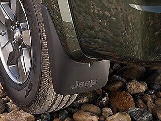 front /& rear 2008-2012 Jeep Liberty Mopar Molded Splash Guards