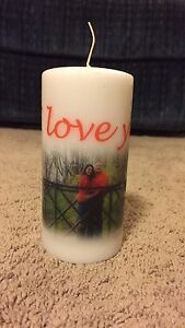 personalized candles your candle your pictures your memories ebay