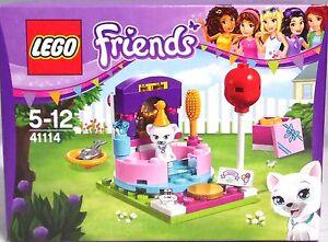 LEGO-Friends-41114-Partystyling-Kaetzchen-Fisch-Badewanne-Spiegel-Geschenk-NEU