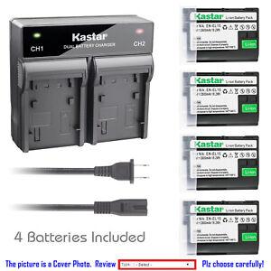 Details about Kastar Battery Dual Fast Charger for Nikon EN-EL15 MH-25  Nikon D750 DSLR Camera