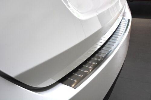 Hyundai İx-20 2010-2014 Chrome Rear Bumper Protector Scratch Guard S.Steel