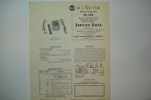 RCA-VICTOR-SERVICE-DATA-1959-NO-44-BK-249-FOR-USE-WITH-1-T-4-RADIO-SERIES