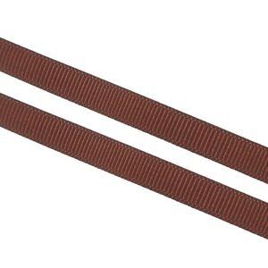 10-M-grain-10mm-webband-bordato-ornamentali-nastro-cucire-dekoband-SCRAPBOOKING-Marrone-c244