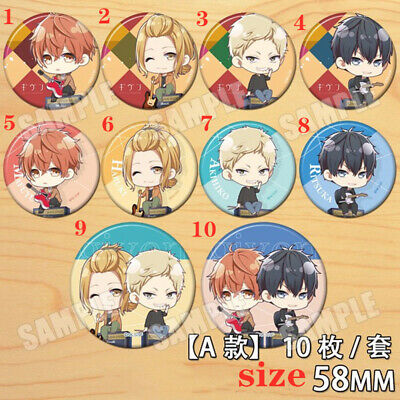 """Anime GIVEN badges Pins Schoolbag 5.8CM 2.3/"""""""