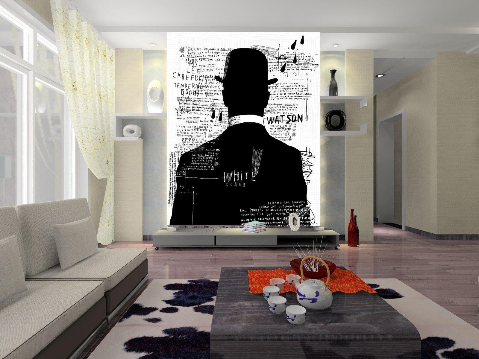 3D Gentleman Plakat 7990 Tapete Wandgemälde Tapete Tapeten Bild Familie DE Lemon