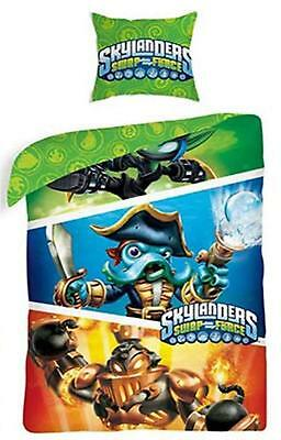 Diskret Skylanders Swap Force Blast Zonen Wash Buckler Dunkel Ninja Elf Bettwäsche