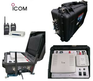 ICOM TWO WAY IP100H RADIO SYSTEM BUNDLE PORTABLE KIT FOR WIRELESS NETWORKS