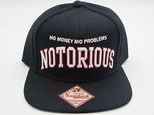 Biggie Notorious Big Black Throwback Retro OG Jordan 1 Snapback Hat Cap 8626fa924faf