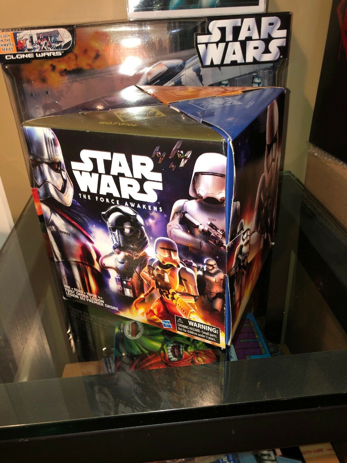 Hasbro Star Wars The Force Awakens FIRST ORDER LEGION Trooper Figure Box AMAZON