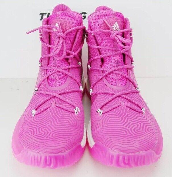 ADIDAS SM Crazy Explosive BCA Men's Basketball shoes Boost Pink SZ 14 NEW