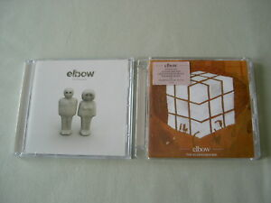 ELBOW-job-lot-of-2-CD-albums-Cast-Of-Thousands-The-Seldom-Seen-Kid