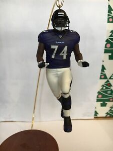 Christmas-Hallmark-Keepsake-NFL-Michael-Oher-Legends-Ravens-Ornament-New-In-Box