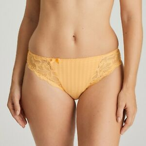 Prima-Donna-Madison-Rioslip-Mango-Gelb-Orange-Slip-Dessous-Karo-Spitze-0562120