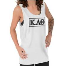 Kappa Alpha Theta College Sorority Rush Greek Tank Tops T-Shirts Tees For Womens