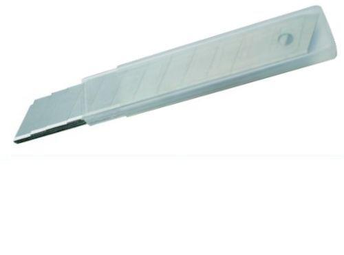 10 Stk Ersatzklingen Cuttermesser Teppichmesser Trockenbau Tapetenmesser 18 mm