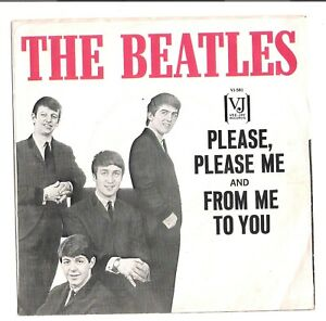 The-Beatles-VJ-581-45rpm-PS-only-Please-Please-Me