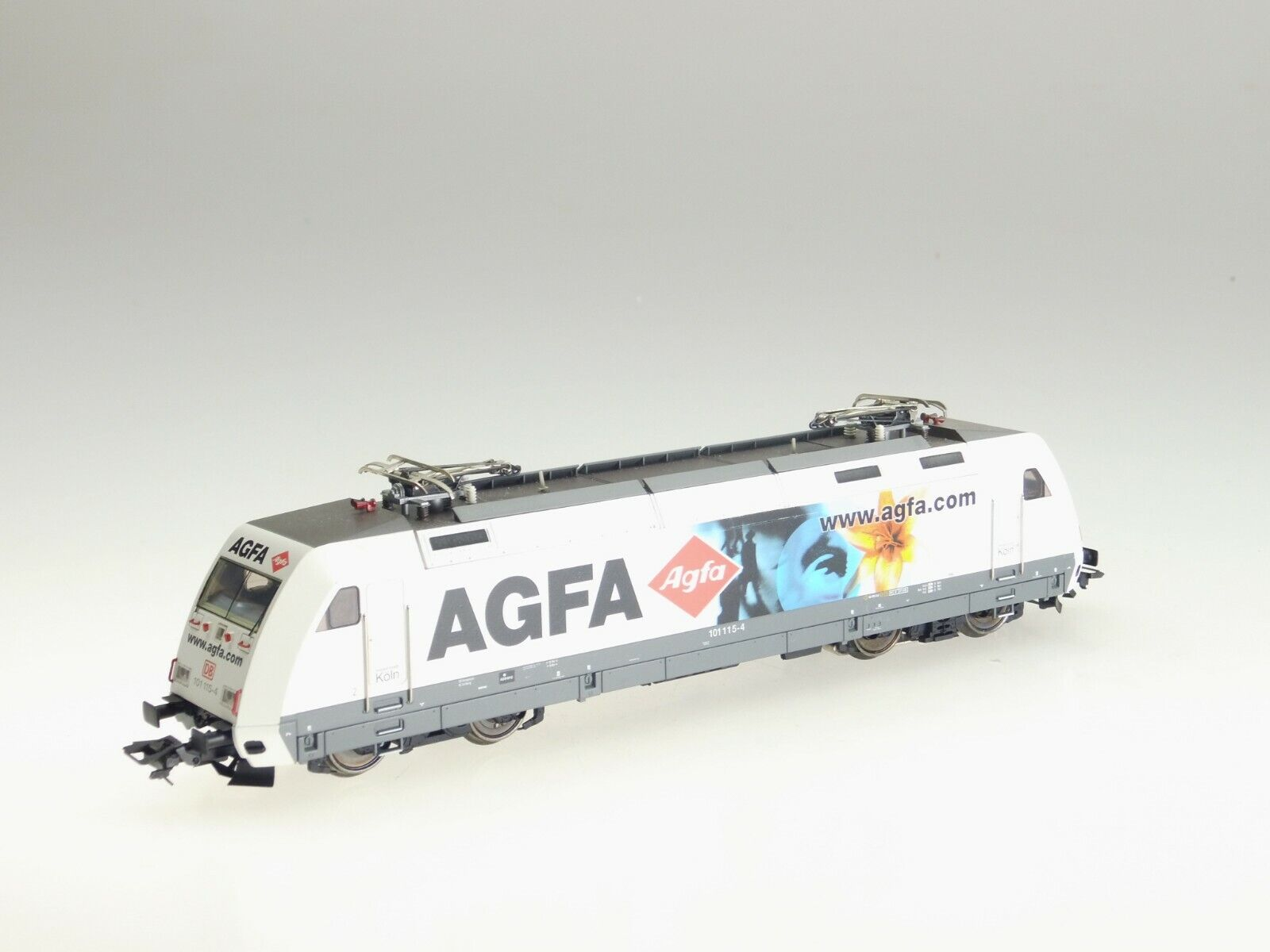 (87 477) marklin H0 E-Lok 101 115-4   Agfa   DB (Tipo Nr.29856) AC   Digitale