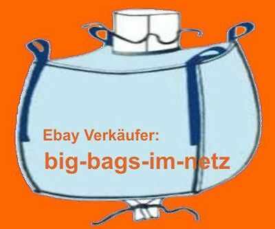 * 4 Stk. Big Bag - 95 Cm Hoch - 75 X 96 Cm Bags Bigbags Säcke Container 1 To Durchsichtig In Sicht