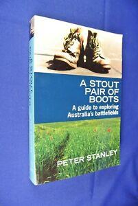 A-STOUT-PAIR-OF-BOOTS-Peter-Stanley-TRAVEL-AUSTRALIA-BATTLEFIELDS-Long-Tan-etc