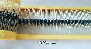 100-pcs-1-4W-0-25W-1-Metal-Film-Resistor-75K-ohm