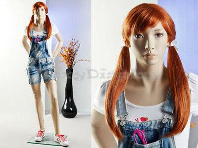 Preteen//Teen Fiberglass Mannequin Dress Form Display #MZ-SK05