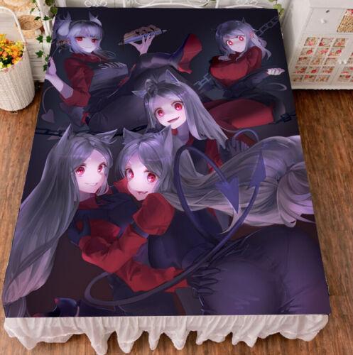 Anime helltaker cerberus lucifer Blanket Bedding Coverlet Bed Sheets 150X200cm