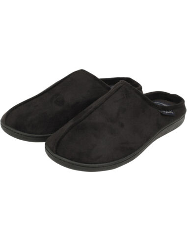 New Mens Tokyo Laundry Branded Fleece Lined Slippers Size 7-12