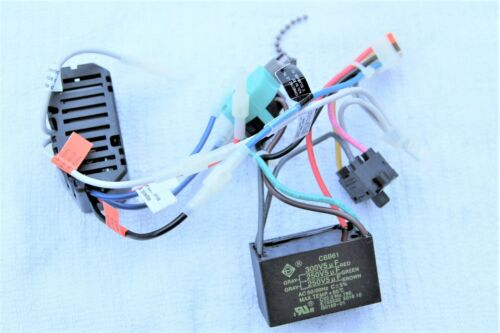 Parts Wiring Harness Capacitor Rev