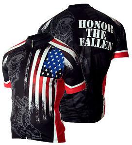 Military Fallen Warrior Mens Cycling Jersey Bike 83 Sportswear USMC ... 0cefaf0f7