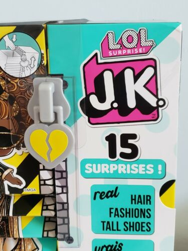 LOL SURPRISE JK MINI FASHION DOLL WITH REAL HAIR QUEEN BEE *BRAND NEW*