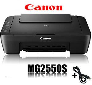 CANON-PIXMA-MG2550S-MULTIFUNKTIONS-DRUCKER-SCANNER-KOPIERER-NEU