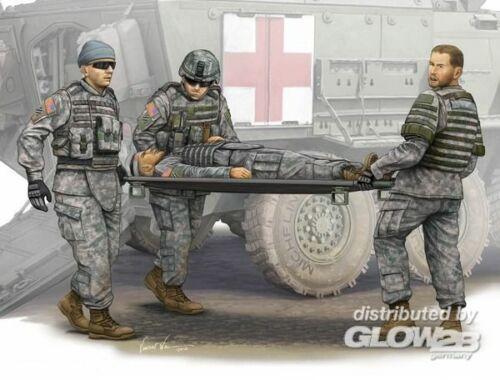 Trumpeter 430 Neuzeit 1945 bis heute Modern U.S Army-Stretcher AmbulanceTeam